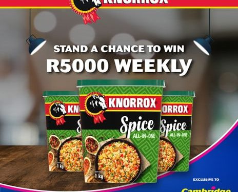 Cambridge Food Knorrox All in Spice Competition