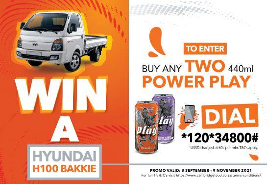 Win a H100 Bakkie powerplay